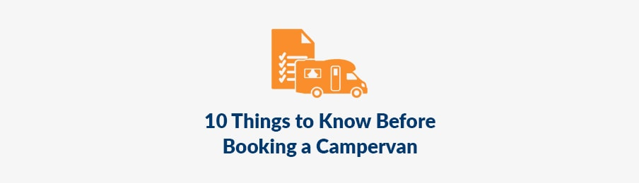 10 things to know before booking a campervan