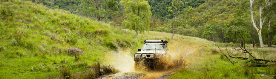a 4wd and off-road driving in australia