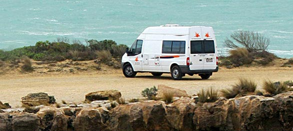 campervan hire Gold Coast van