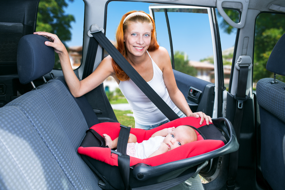 baby seats for car hire