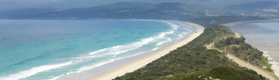 Bruny Island Lookout The Neck Beach