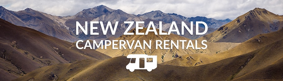 Campervan Hire in New Zealand - Compare Motorhome Deals