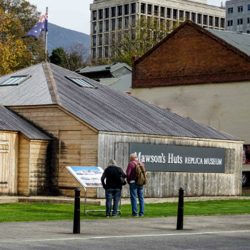Explore Mawsons Huts Replica Museum with your campervan rental