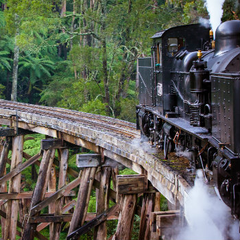 Puffing Billy Train at Dandenong Ranges