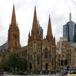 st. paul's cathedral in melbourne