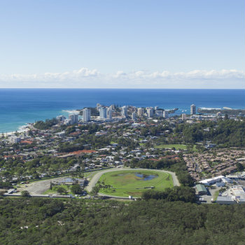 View of Coolangatta and Kirra