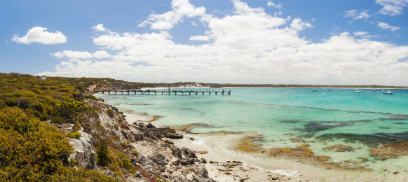 Vivionne Bay on Kangaroo Island