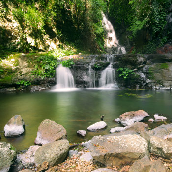 Waterfalls in Lamington National Park, Queensland