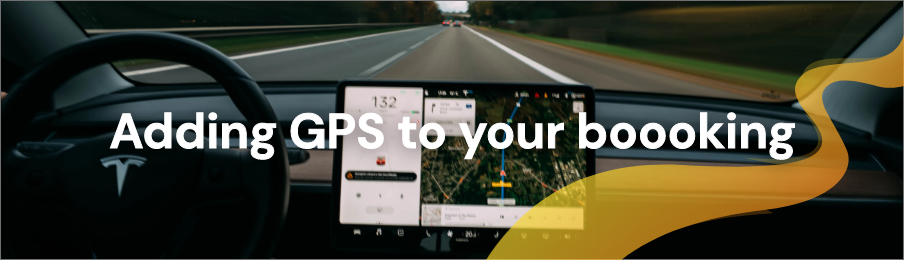 Adding GPS to your booking