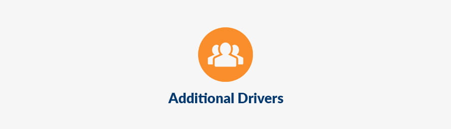 Additional drivers fee AU banner