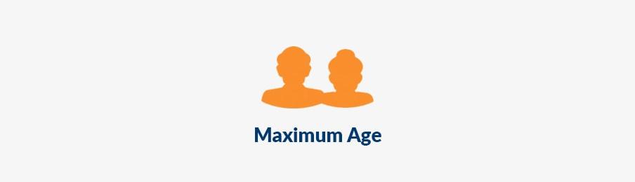 maximum age