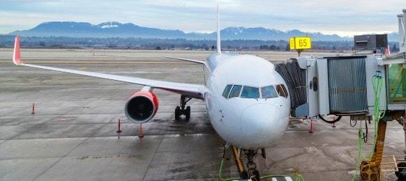 aircraft ground handling at the terminal