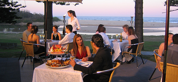 Car hire Wollongong - The Lagoon Seafood Restaurant