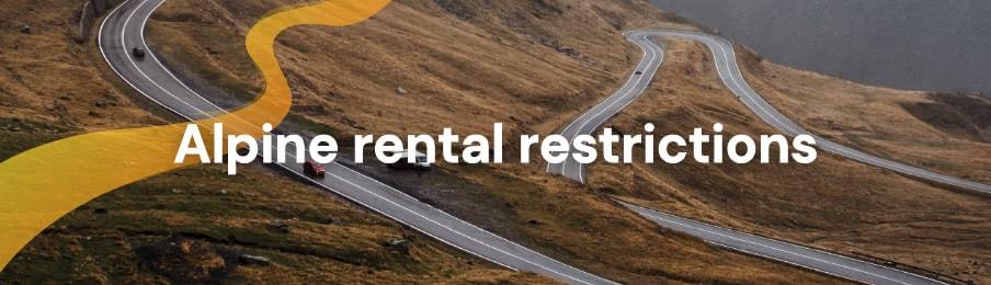 Alpine rental restrictions