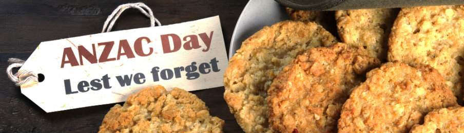 the popular anzac biscuits