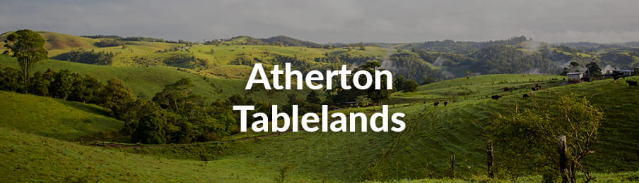 Atherton Tablelands in AU guide banner