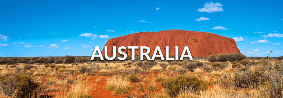 Beautiful view of Outback in Australia