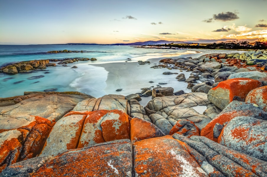 Bay of fires coastline