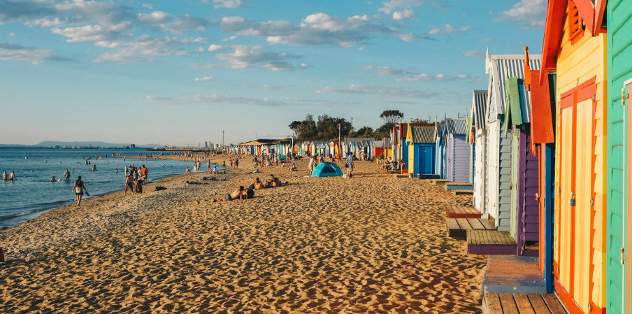 beach houses in Melbourne by A Matter of Taste