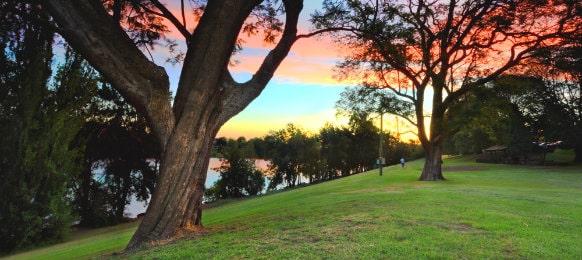 Park in Penrith, Sydney, Australia