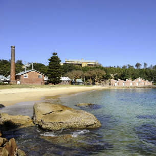 stunning view at Station Sydney Harbour National Park Manly