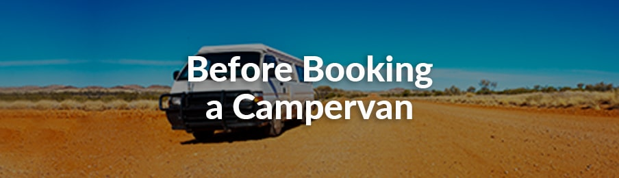 before booking a campervan