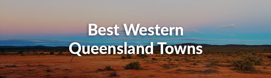 best western queensland towns
