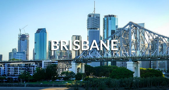 Story bridge of Brisbane city in Australia
