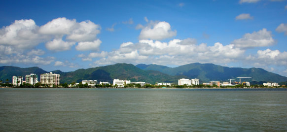 cairns from the water