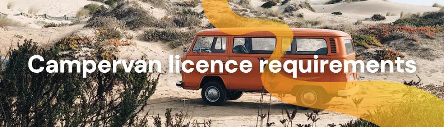 Campervan licence requirements