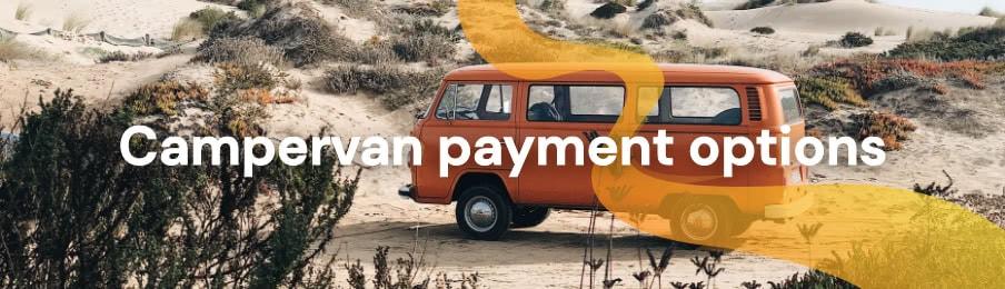 Campervan payment options