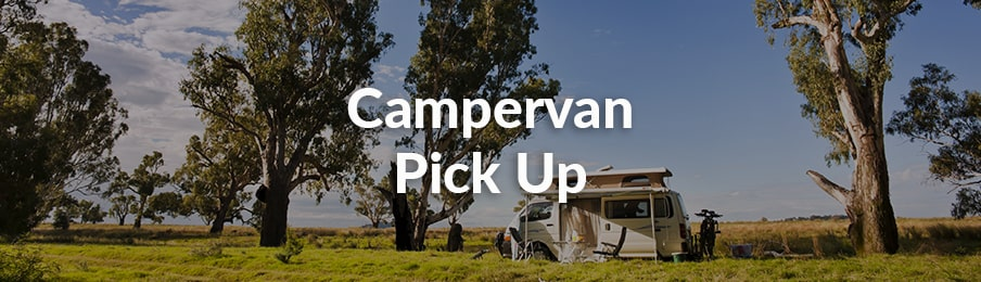 Campervan Pick Up in Australia