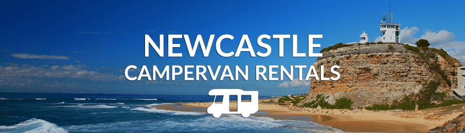 Beach views in Newcastle, Australia
