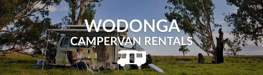 Campervan parked in Wodonga
