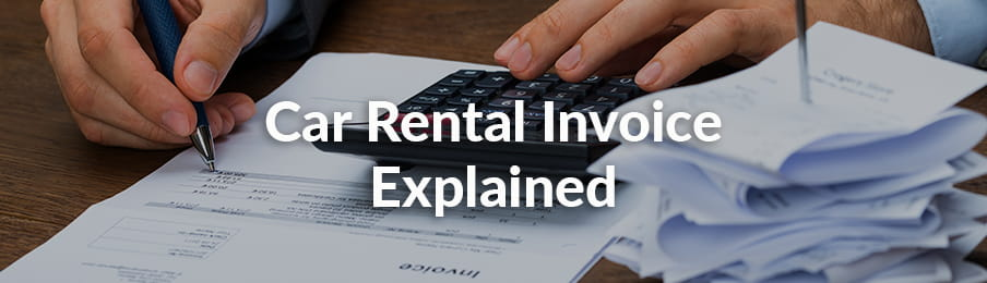 How To Read Your Car Rental Invoice Vroomvroomvroom