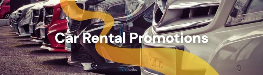 Car Rental Promotions