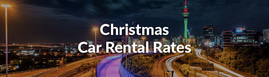 christmas car rental rates
