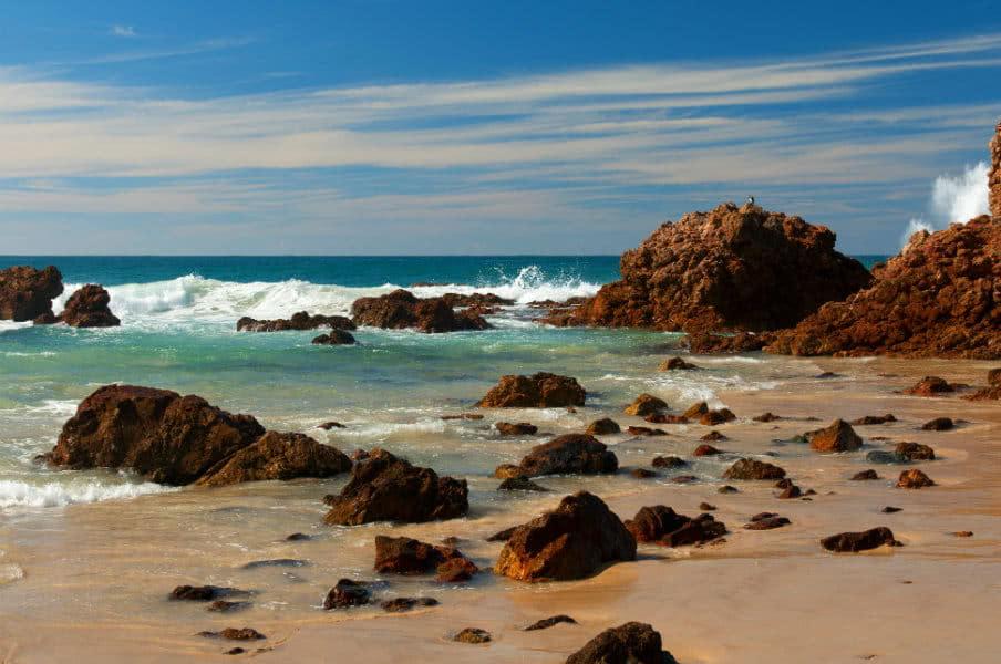 Coastal scene near Port Macquarie, NSW, AU
