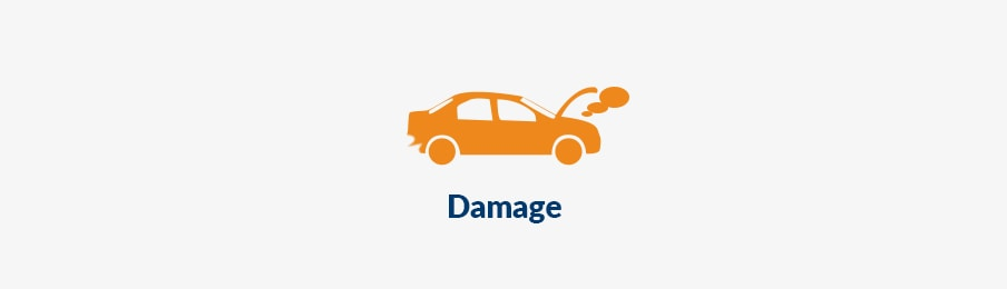 Checking you car damage banner