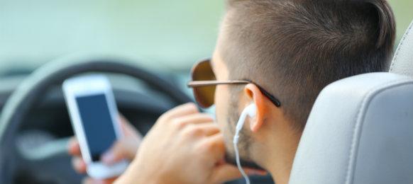 bloke listening to music