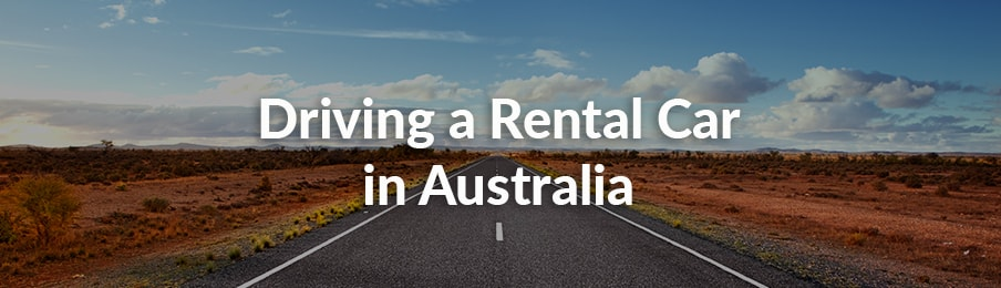 Driving a rental car in Australia