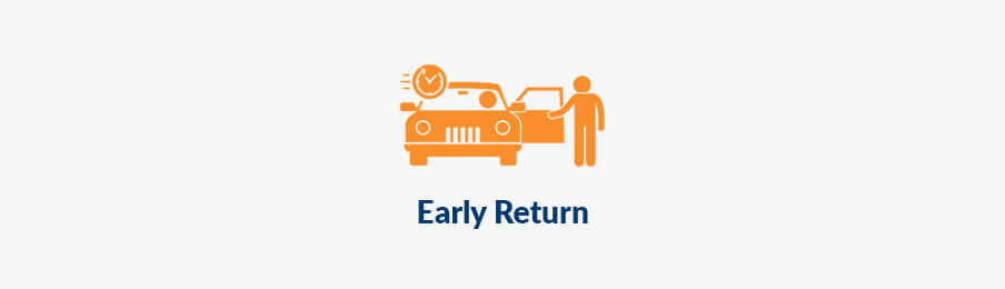 Early hire car return in AU guide banner