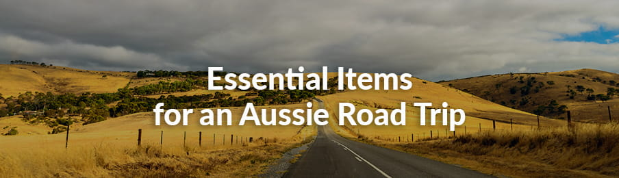 Essential items for Aussie road trip