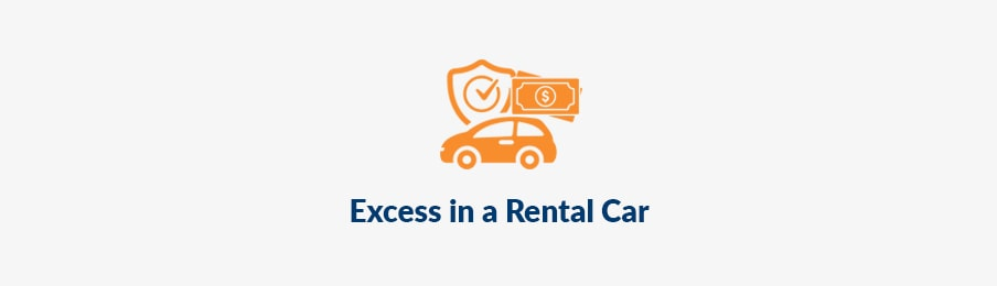 excess in a rental car