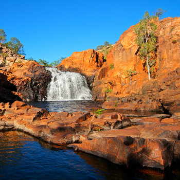 Small falls in Kakadu National Park, Darwin