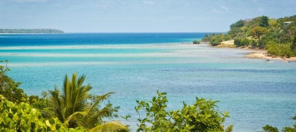 fatumaru bay, port vila, vanuatu