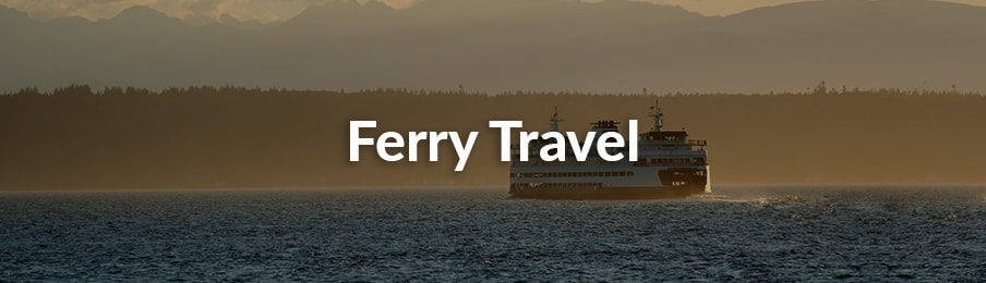 Ferry travel in Australia guide banner