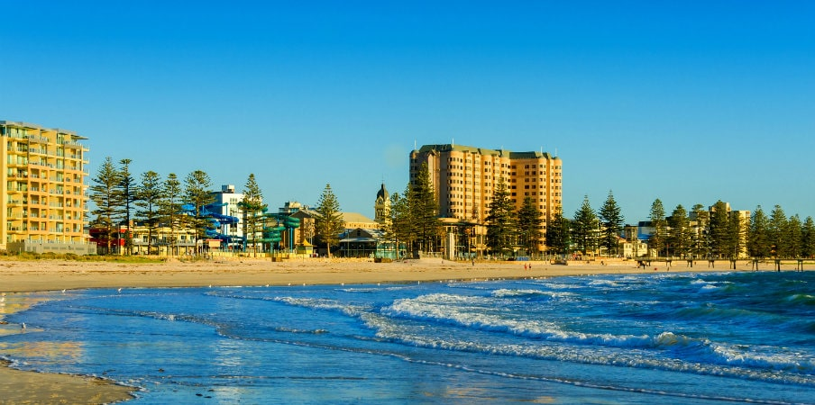 glenelg beach australian suburb south australia