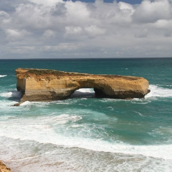 Rock formations along the Great Ocean Road, Australia