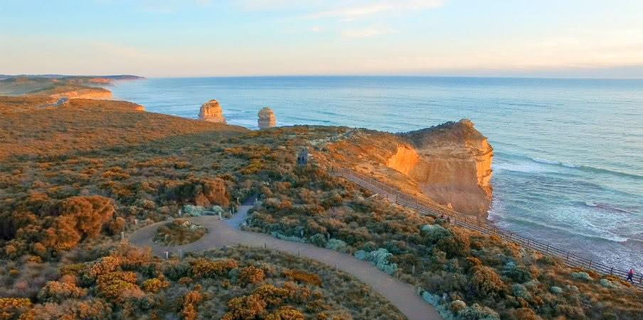 Great Ocean Road seascape, Victoria, Australia